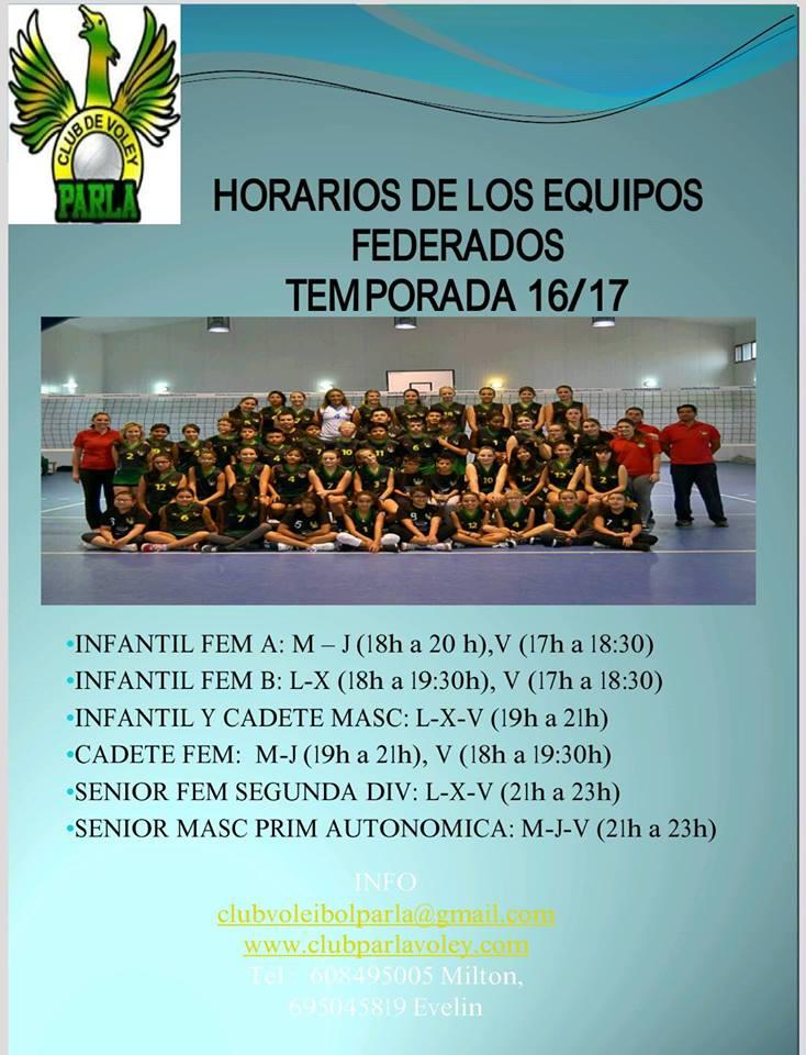 Horarios 16-17